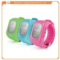 Multi-functional Gps Tracker Type digital children wrist watch with SOS for smartphone