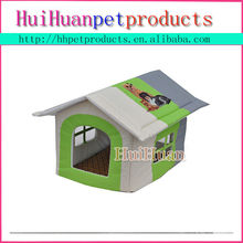 Animal pattern house inside cool dog house