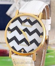 Geneva Corrugated Strap Watch The spot Wholesale Fashion Lovers Quartz Watch