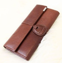 women COW leather purse ladies clutch bag cheap wallet wholesale FREE SHIPPING
