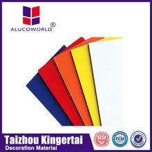 Alucoworld 2014 hot sale aluminum composite penel protective film safety wall cladding panel