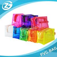 Cheap Clear PVC Customized Plastic Gift Bag Shopping