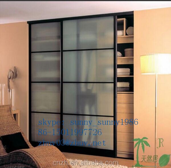 European style bedroom wardrobe door designs for home for Bedroom wardrobe shutter designs