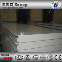 hot sale polyurethane sandwich panel for roof and wall for prefab house