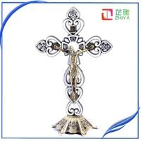 religious catholic metal standing cross