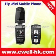 M6 Dual SIM Flip Mini Mobile Phone with camera