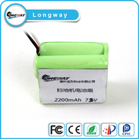 Portable 1s1p 2200mah lithium ion battery pack for lg