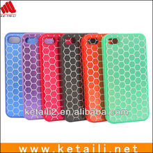 China OEM factory soft and colorfulslicone for iphone 5s case