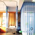 hospital tela da cortina com teto montado alumínio trilha da cortina