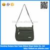 Army green vintage messenger bag custom cool messenger bag with high quality for school boy