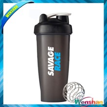2015 plastic Blender protein Shake water bottle
