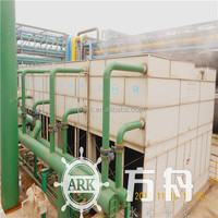 wuxi ARK water cooling tower used in iron pipes factory
