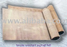 tensile resistant asphalt felt