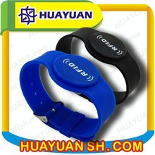 High Frequency 13.56mhz Texas Instruments I CODE SLIX S smart passive RFID wristband rf card hotel lock management system
