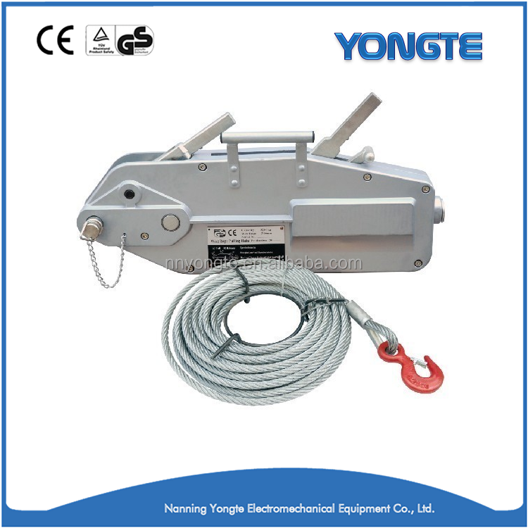 Manual Cable Nâng Hoist Wire Rope Winch Tirfor Hoist