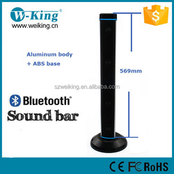 2015 latest loud sound family home 20W Hifi sound bar Tower bluetooth speakers for TV