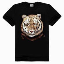 2015 OEM High quality animal men 3d ing t-shirt sex xxl Bengal tiger t-shirt
