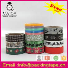 Own logo paper transparent waterproof cheap crepe paper masking tape