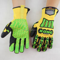 Ironclad kong dexterity super grip IPWSDXG2 High Visibility Safety gloves Impact gloves Protection work gloves