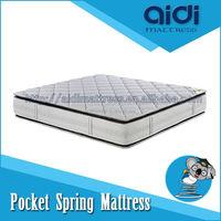 Hot Sale Kerala Furniture High Resiliance Foam Pocket Spring Japanese Beds Mattress