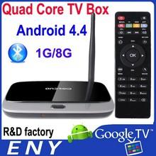 3D Blue Ray Player Live Streaming RK3188 Amlogic Android TV Box Kodi Preloaded DDR3 Quad Core 1GB 8GB Flash 3D HD Wifi RK3188T