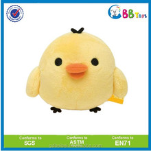 ICTI high funny quality plush toys for sales.The small yellow hen