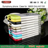 Colorful Anti slip TPU Soft back Cover Rubber Skin Case For Samsung Galaxy S5 i9600 mobile cases and covers