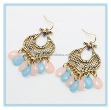 Aliexpress Hot Jewelry Fashion Resin Tear Drop Earrings