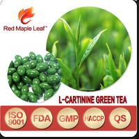 Chinese High Quality Fat Burner Slim Fast L-carnitine Green Tea Capsules