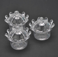 Plastic Crown Wedding Favour Candy Box