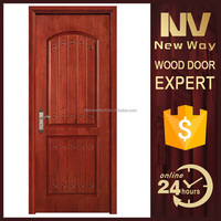 new design fancy kitchen entry wood door