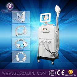 Latest SHR multifunction ipl rf laser beauty equipment