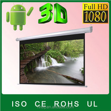 """150"""" 3D Electric Projection screen1080P Quick fold screen/ manual/tripod/fixed frame/motorised/portable floor/projection screen"""