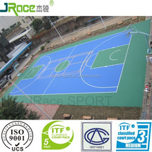 multi-function outdoor synthetic sport surface for high school