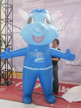customized new design cartoon giant inflatable dragon costume