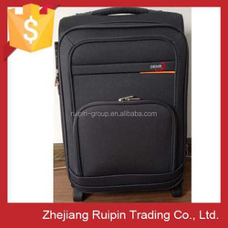 High End Best Quality Fashion 2 Wheels Fabric Luggage from Zhejiang