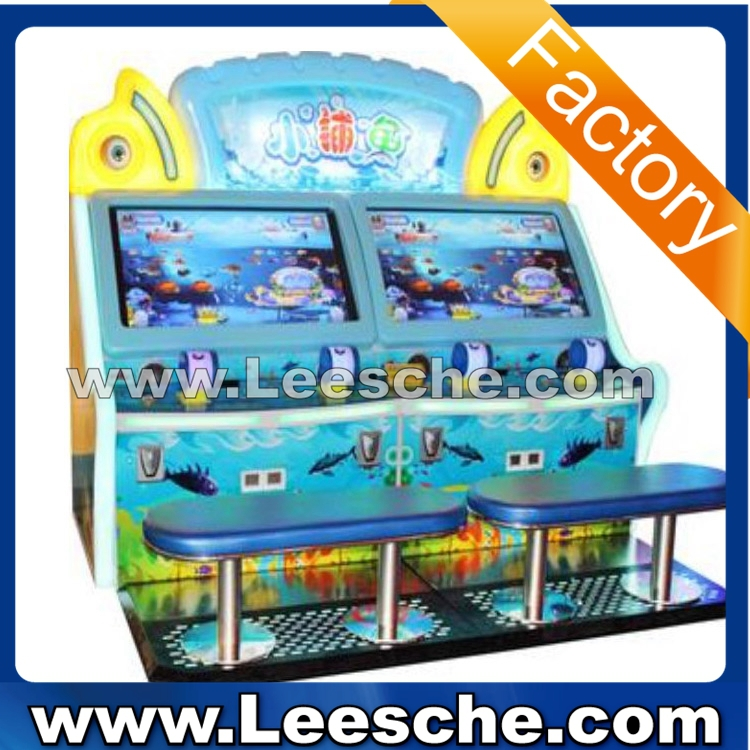 Lsjq 677 fishing shooting game machine coin operated kids for Arcade fish shooting games