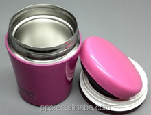 300ml Japan standard thermal food container/stainless steel vacuum storage jar/ insulated soup kettle vacuum bowl