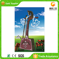 Fashion design factory supply for war art decoration horse head string instrument 3d cross stitch diamond painting mosaic kit