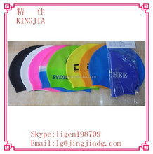 Durable Stylish Sporty Silicone Flexible Swimming Swim Cap Bathing Hat Swim Wear