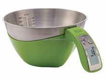 With CE & RoHS certificates Stainless Steel Measuring Cup Digital Kitchen Scale