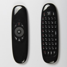 Remote Control 2.4GMini Wireless Keyboard, mini wireless Fly Air Mouse for Smart TV, China Supplier