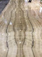 Luxury Tiger Onyx indoor flooring tiles design