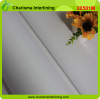 Woven 100% Cotton Fusible Shirt Collar Lining/Interfacing/Interlining fabric