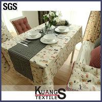 silicone wedding table cloth