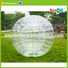 outdoor sports inflatable soccer zorb ball for adult