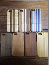 New Products 2015 Solid Bamboo Case for iPhone 5C Wood Cell Phone Case
