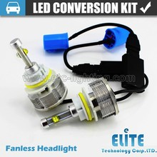 9007 headlight led car head lamp with no fan