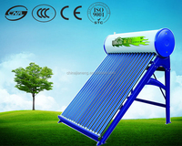 China manufacture compact vacuum tube rooftop solar water heater 200l solar water distillation