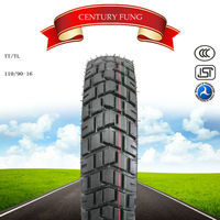 High quality but competitive price carriage tire motorcycle tire importers CENTURY FUNG 110/90-16 motorcycle tire S-012